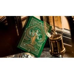Jeu de Cartes Limited Edition Green Tycoon - theory11 wwww.magiedirecte.com