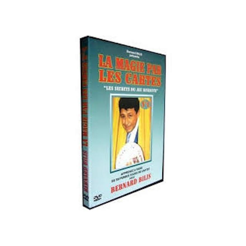 DVD La magie par les cartes Vol.4 - Bernard BILIS wwww.magiedirecte.com