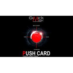 PUSH CARD (German) by Mickael Chatelain  - Trick wwww.magiedirecte.com