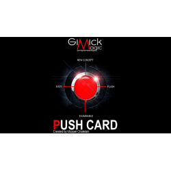 PUSH CARD (Japanese) by Mickael Chatelain  - Trick wwww.magiedirecte.com