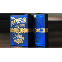 The Parlour Playing Cards (Bleu) wwww.magiedirecte.com