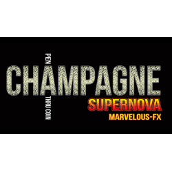 Champagne Supernova (EURO) Matthew Wright - Tour de magie wwww.magiedirecte.com