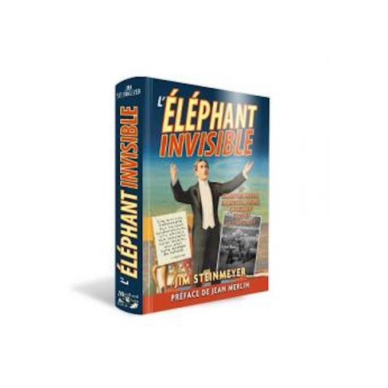L'Elephant Invisible-Livre wwww.magiedirecte.com