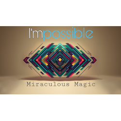 I'mpossible Blue (Gimmicks and Online Instructions) by Miraculous Magic - Trick wwww.magiedirecte.com