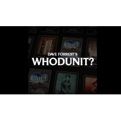 Dave Forrest's WHODUNIT? (Gimmicks and Online Instructions) - Trick wwww.magiedirecte.com