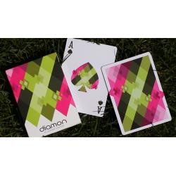 Diamon N° 8 Summer Bright by Dutch Card House Company wwww.magiedirecte.com