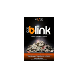 NO BLINK ROUGE de Mickael Chatelain wwww.magiedirecte.com