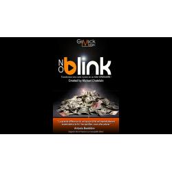 NO BLINK Bleu de Mickael Chatelain wwww.magiedirecte.com