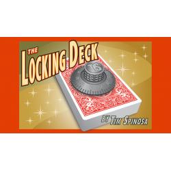 The Locking Deck (BLUE) by Tim Spinosa - Trick wwww.magiedirecte.com