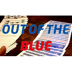 Out Of The Blue (Gimmicks and Online Instructions) by James Anthony and MagicWorld - Trick wwww.magiedirecte.com