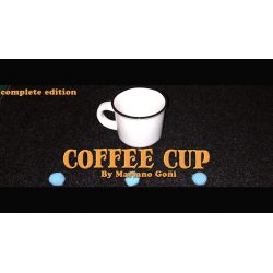 Coffee Cup Complete Edition (Gimmicks and Online Instruction) by Mariano Goni - Trick wwww.magiedirecte.com