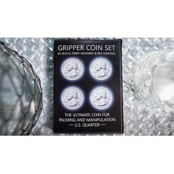 Gripper Coin (Set/U.S. 25) by Rocco Silano - Trick wwww.magiedirecte.com
