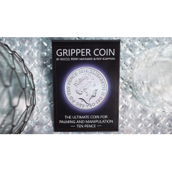 Gripper Coin (Single/10p) by Rocco Silano - Trick wwww.magiedirecte.com