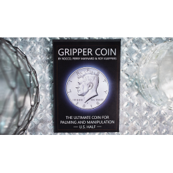 Gripper Coin (Single/U.S. 50) by Rocco Silano - Trick wwww.magiedirecte.com