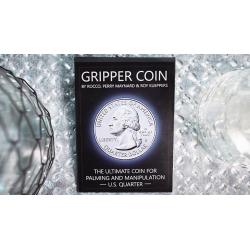 Gripper Coin (Single/U.S. 25) by Rocco Silano - Trick wwww.magiedirecte.com
