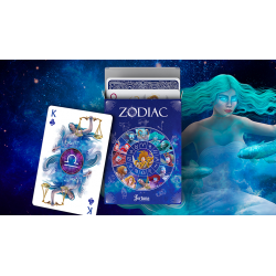 Zodiac - Fortuna Playing Cards wwww.magiedirecte.com
