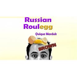 Russian Roulegg Brown - Quique Marduk wwww.magiedirecte.com