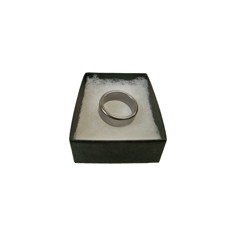 Wizard PK Ring Original (FLAT, SILVER, 16mm) - World Magic Shop - Trick wwww.magiedirecte.com