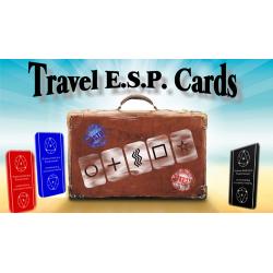 Travel ESP Cards Bleu+Rouge wwww.magiedirecte.com