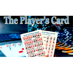 The Player's Card - Paul Carnazzo wwww.magiedirecte.com