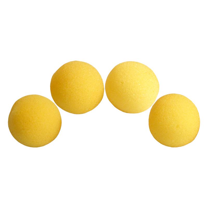 Balle Mousse 5 cm Jaune Ultra Soft wwww.magiedirecte.com