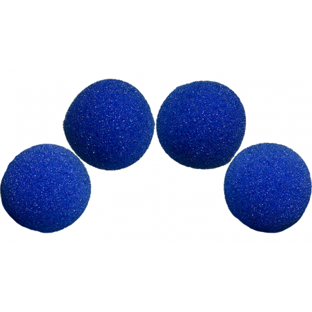 Balle Mousse 5 cm Bleue Ultra Soft wwww.magiedirecte.com