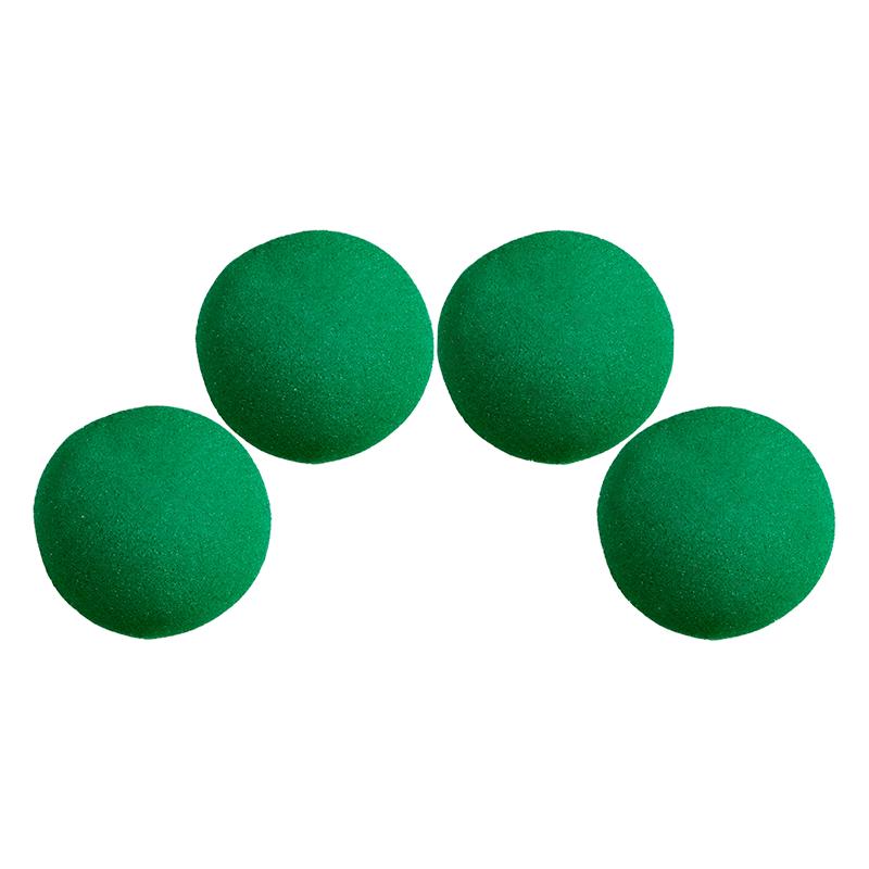 Balle Mousse 5 cm Verte Ultra Soft wwww.magiedirecte.com