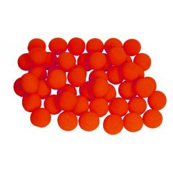 Balles Mousse 5 cm Rouge Regular - 50 pièces wwww.magiedirecte.com