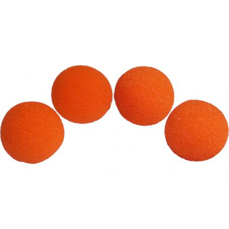 Balles Mousse 7.5 cm Orange Super Soft wwww.magiedirecte.com