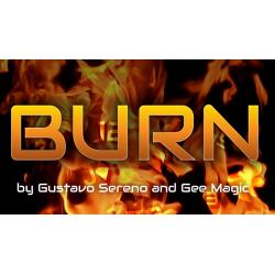 BURN - Gustavo Sereno + Gee Magic wwww.magiedirecte.com