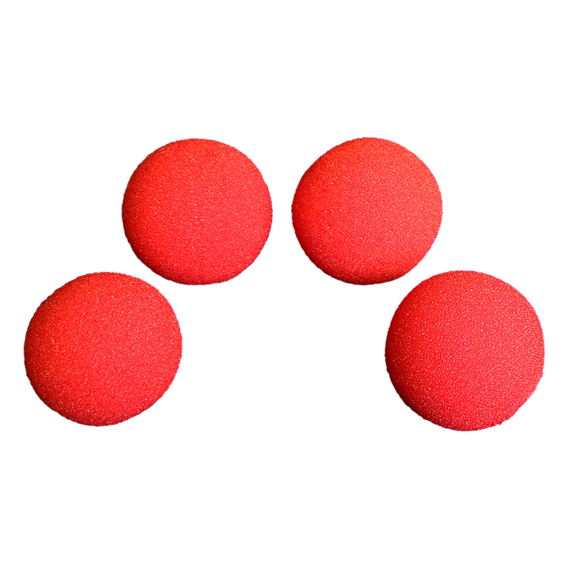 Balles Mousse 7.5 cm Rouge Regular wwww.magiedirecte.com