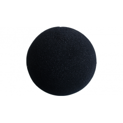 Balle Mousse 10 cm Noire Regular wwww.magiedirecte.com