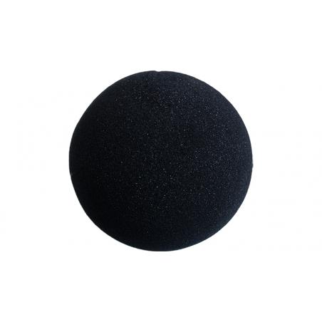 Balle Mousse 10 cm Noire Regular wwww.magiedirecte.com