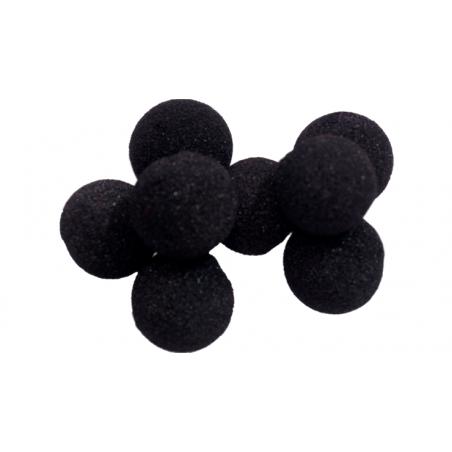 Balle Mousse 2cm Mini Noire Regular wwww.magiedirecte.com