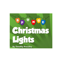 Super-Soft Sponge Christmas Lights by Timothy Pressley and Goshman- Trick wwww.magiedirecte.com