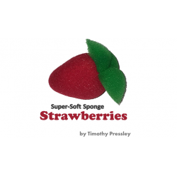 Super-Soft Sponge Strawberries by Timothy Pressley and Goshman - Trick wwww.magiedirecte.com