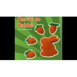 Sponge Carrot to Rabbit by Timothy Pressley and Goshman - Trick wwww.magiedirecte.com