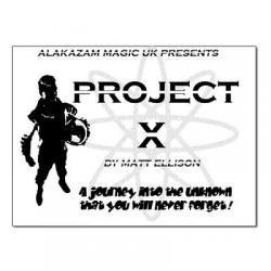 Project X - Alakazam-Matt Ellison - Trick wwww.magiedirecte.com