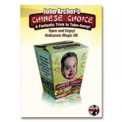 Chinese Choice- John Archer-Alakazam- wwww.magiedirecte.com