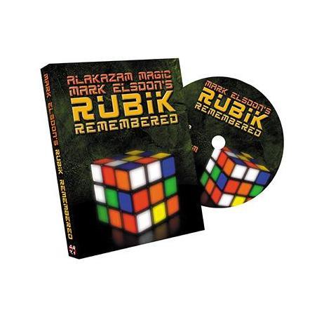 Rubik Remembered by Mark Elsdon and Alakazam - DVD wwww.magiedirecte.com