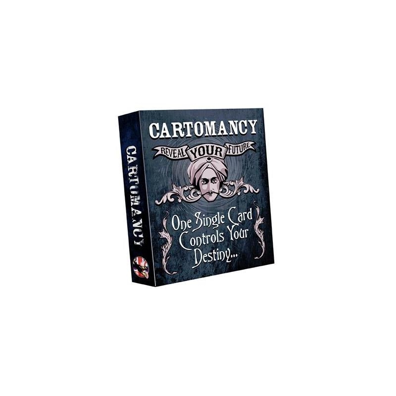 Cartomancy (Rouge)-Peter Nardi-Alakazam wwww.magiedirecte.com