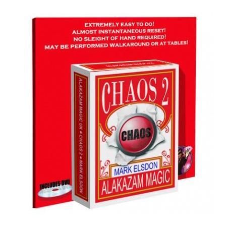 Chaos 2 -Mark Elsdon-Alakazam- wwww.magiedirecte.com