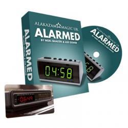 Alarmed-Noel Qualter & Ade Gower- Alakazam wwww.magiedirecte.com