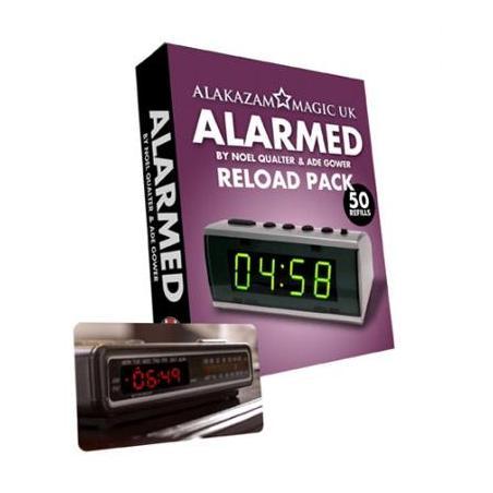 Alarmed RELOAD-Noel Qualter, Ade Gower-Alakazam wwww.magiedirecte.com