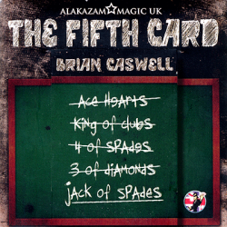 The Fifth Card (DVD and Gimmicks) by Brian Caswell & Alakazam Magic - Trick wwww.magiedirecte.com
