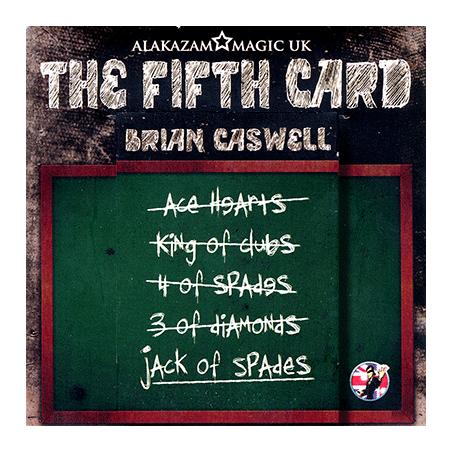 The Fifth Card-Brian Caswell-Alakazam wwww.magiedirecte.com