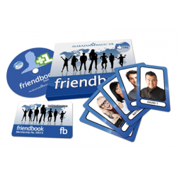 FriendBook (DVD and Gimmicks)by David Taylor & Alakazam Magic - Tricks wwww.magiedirecte.com