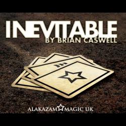 Inevitable RED (DVD and Gimmicks) by Brian Caswell & Alakazam Magic - Tricks wwww.magiedirecte.com