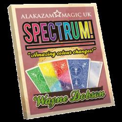 Spectrum by Wayne Dobson and Alakazam Magic - DVD wwww.magiedirecte.com