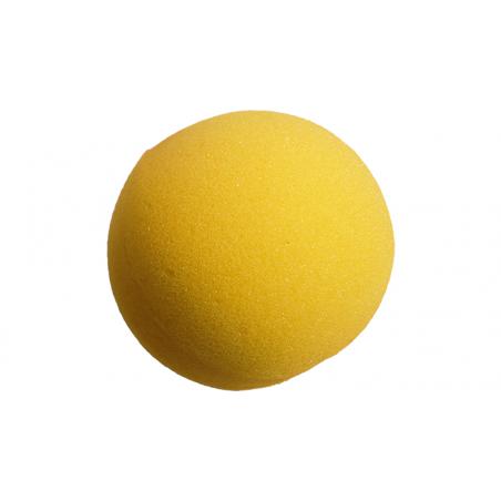 Balle Mousse 10 cm Jaune Super Soft wwww.magiedirecte.com